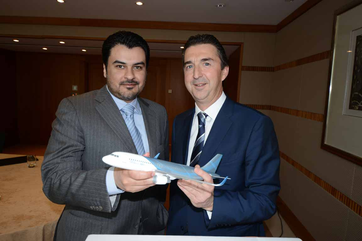 Airbus obtiene el pedido de un ACJ320 de un cliente de Oriente Medio