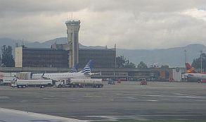 Aeropuerto El Dorado plataforma