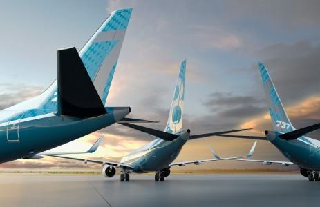 Boeing realiza con éxito el primer vuelo del 737 MAX