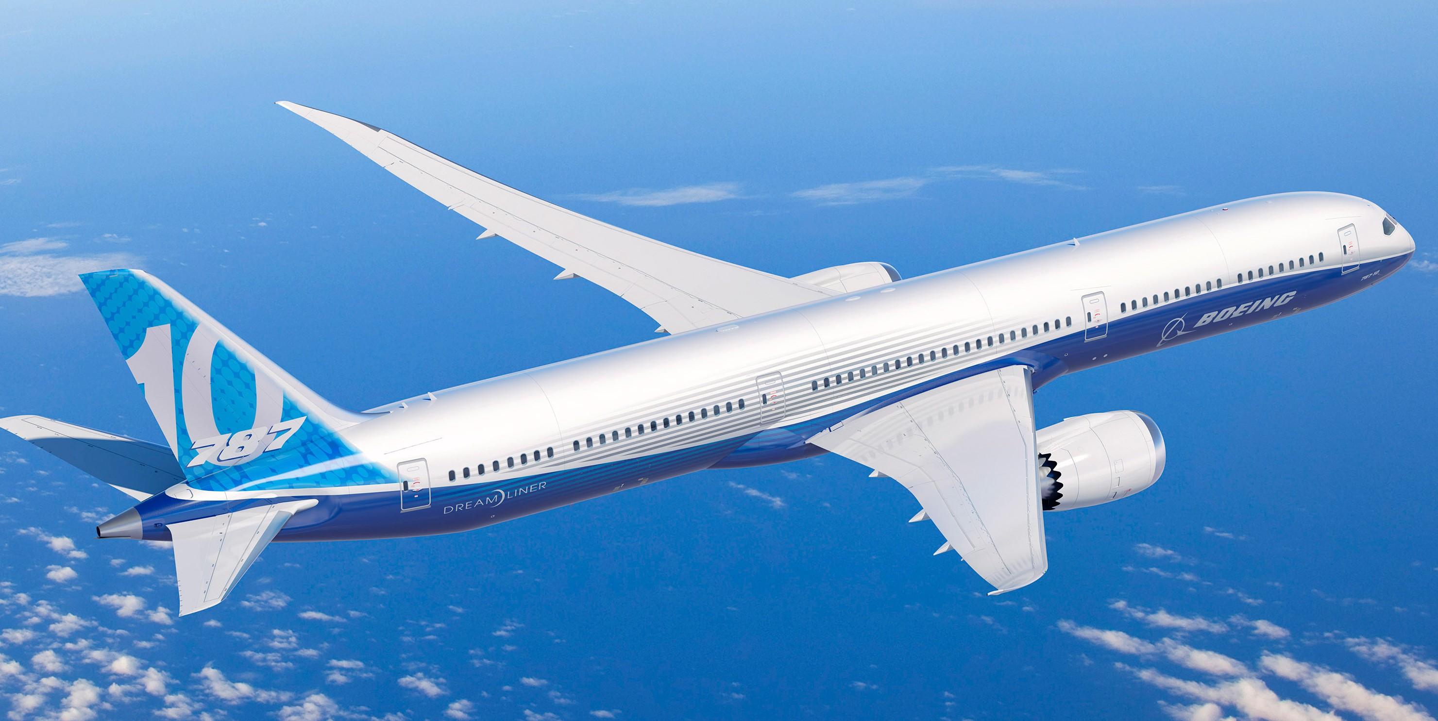 El Boeing 787-10 certificado ATC por la FAA
