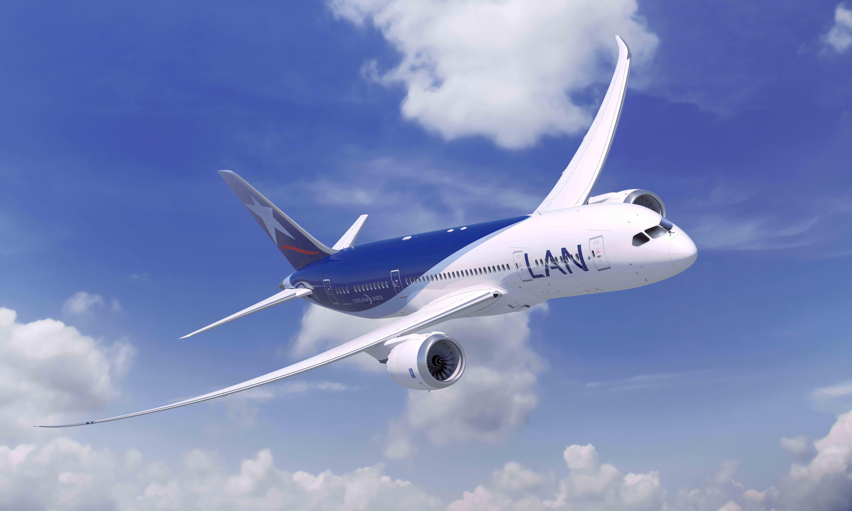 LAN Colombia aumenta sus vuelos a Santiago de Chile y Lima, y cambia el que tiene a Aruba