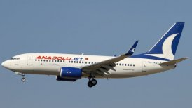 Pasajero intentó desviar vuelo para ir a manifestaciones del 1 de mayo en Estambul