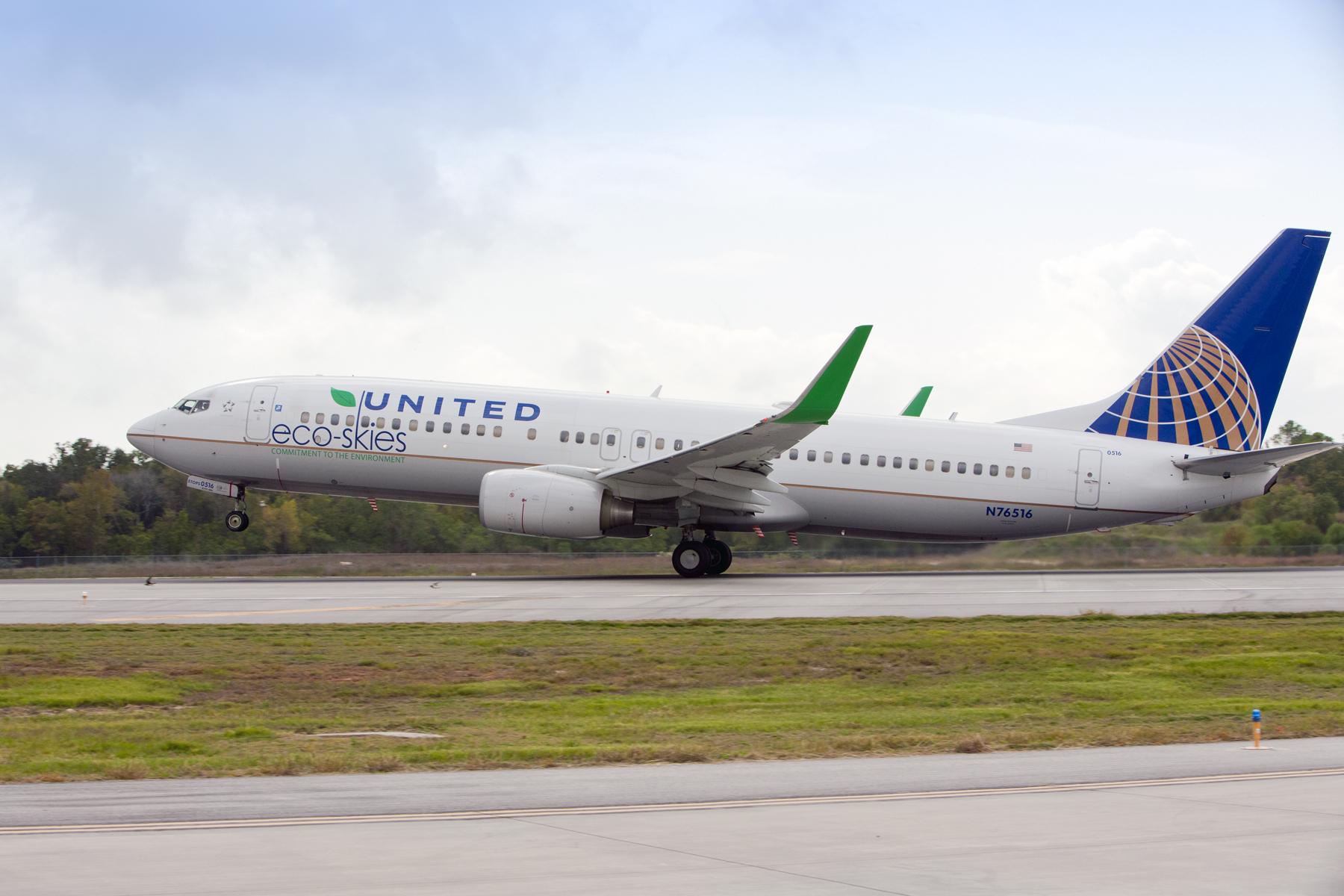 United Airlines recibe reconocimiento por  logros sobresalientes en sostenibilidad
