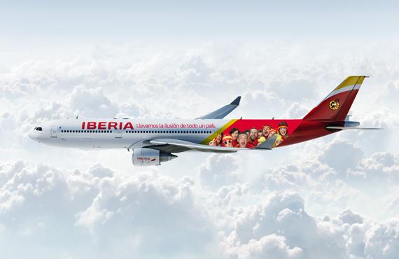 Iberia reafirma su posición de líder en la aviación de España, con una campaña de branding emotiva