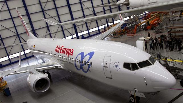 Air Europa presenta su avión only business