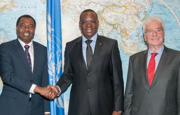 ICAO Council President receives Prime Minister of Burkina Faso