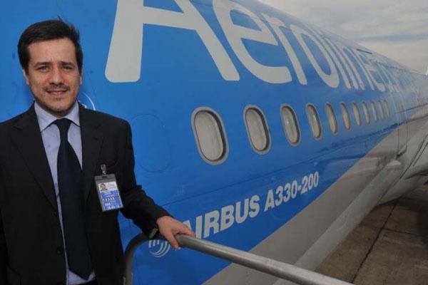 El presidente de Aerolíneas, candidato a jefe de gobierno porteño por el FpV