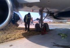 avion estancado Chile