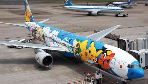 ¿Eres fan de Pokémon? En Japón existían estos aviones