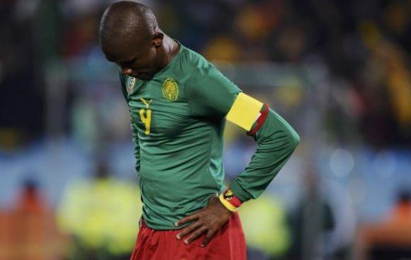 Selección de Camerún no abordó avión a Brasil para el Mundial