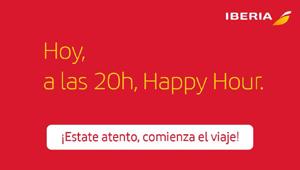 Las agencias irán a la IATA contra el happy hour de Iberia