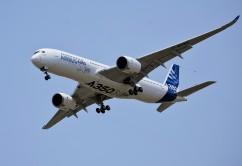Airbus 350 Makes Its Maiden Flight