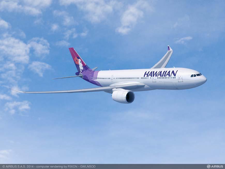 Hawaiian Airlines encargará seis aviones A330-800neo