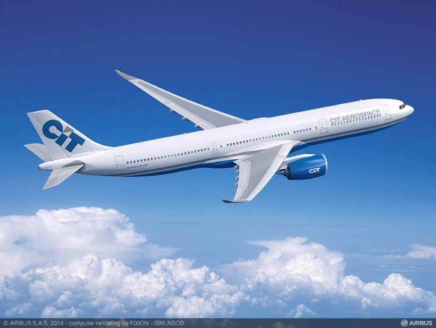 CIT se compromete a adquirir 15 aviones A330neo y 5 A321ceo