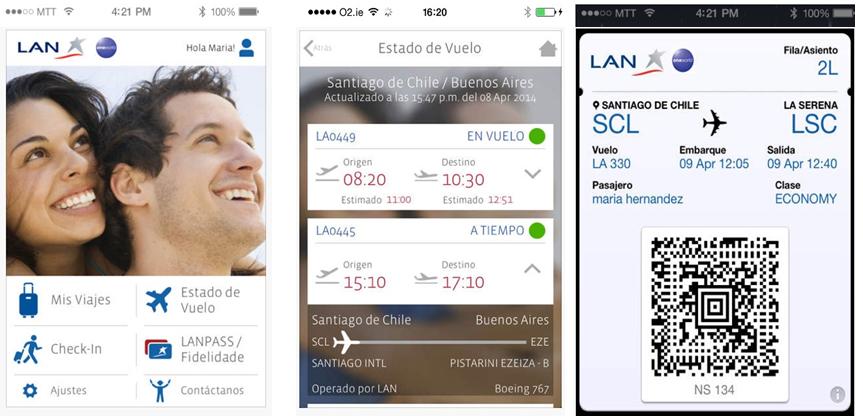 Nueva aplicación de LAN llega al puesto número 1 en descargas de viaje en Chile