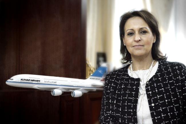 Entrevista con la presidenta y consejera delegada de Kuwait Airways