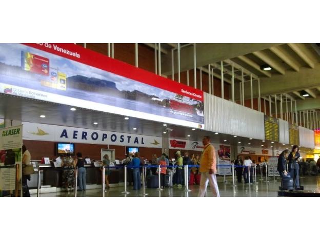 El Aeropuerto de Caracas elimina la tasa del aire acondicionado