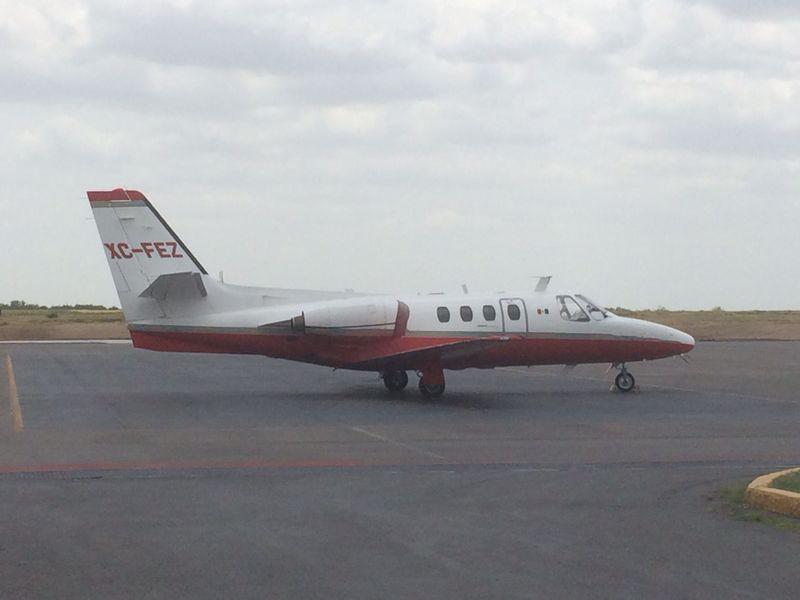 Llega a Nuevo Laredo avión verificador de ILS