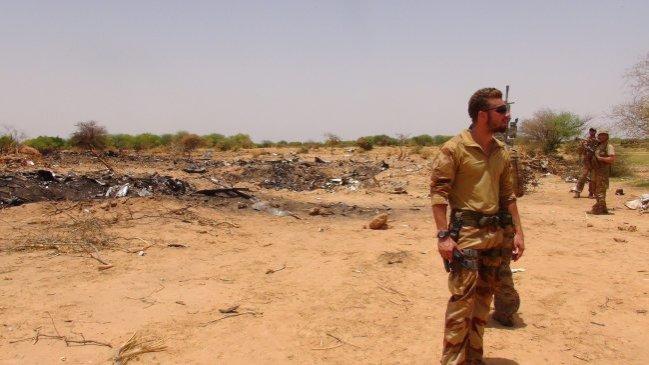 Avión estrellado en Mali pidió desviarse de su ruta y luego retroceder
