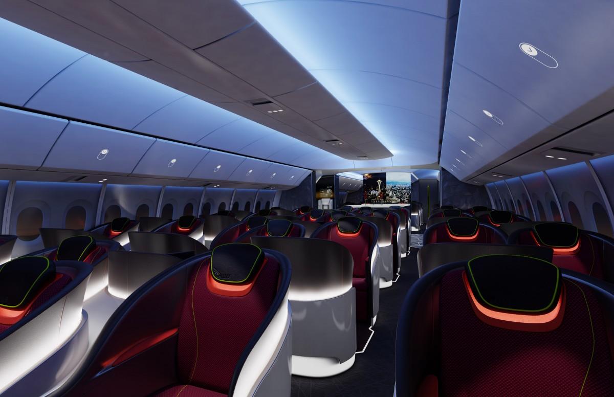Boeing define los elementos principales de la experiencia del pasajero en el 777X