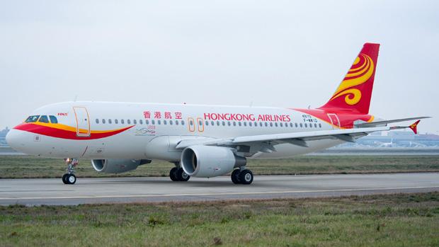 Aerolínea hongkonesa recorta vuelos por baja demanda ante protestas