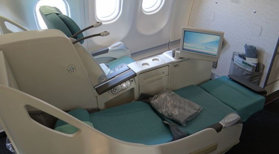 Korean Air, única compañía que dedica una planta entera de los A380 a su clase Prestige