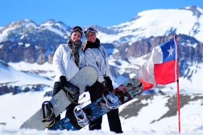 nieve Chile
