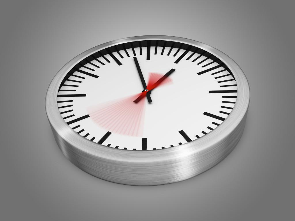 reloj hora