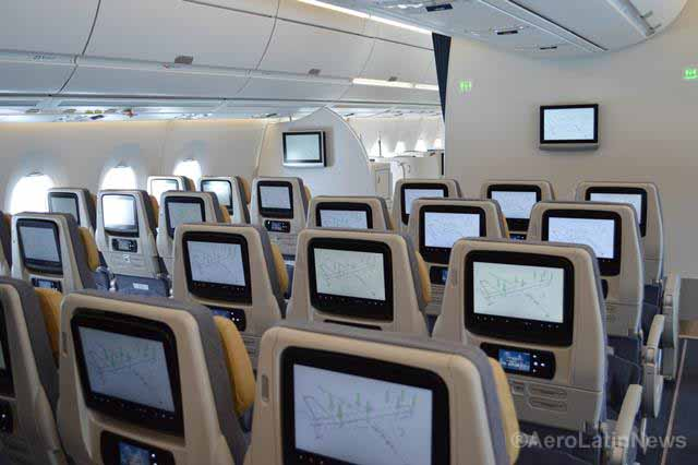 FAA ordered to review the size of airline seats