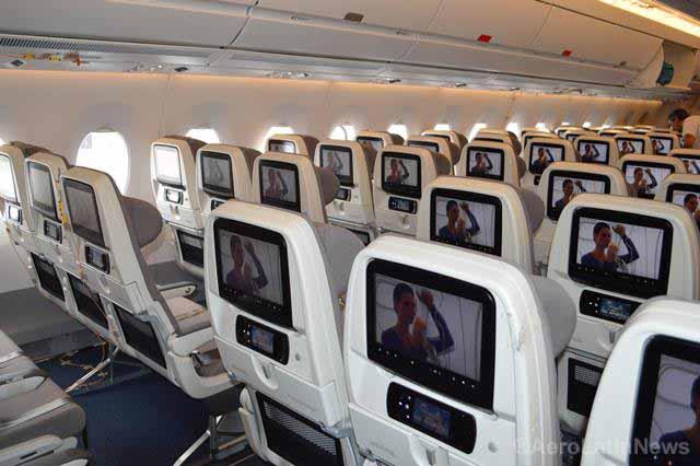 ¿En qué lugar del avión es más seguro viajar?