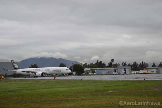 A350 XWB en SCL