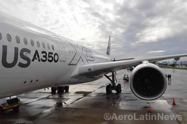 Seis millones de pasajeros fueron transportados por los A350-900