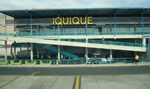 Aerolínea LAN cancela vuelos a Iquique debido a sistema frontal