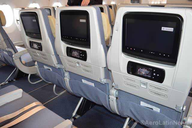 Llega la televisión en directo durante el vuelo