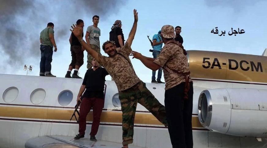 Roban 11aviones comerciales en Libia y se temen atentados del tipo 11-S