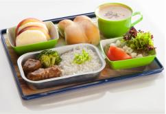 comida sept sky a bordo