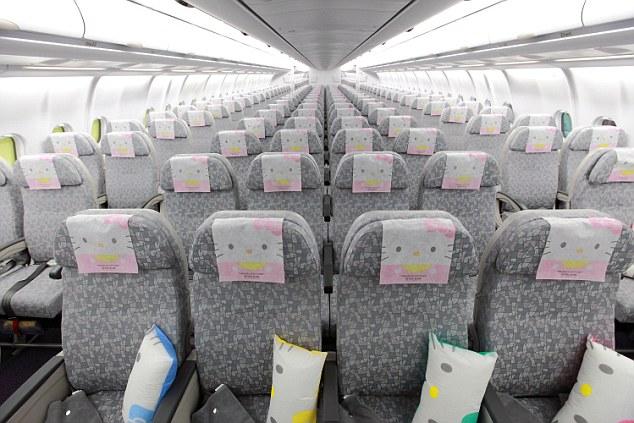 Aerolínea tendrá vuelos a París en un avión adornado como Hello Kitty