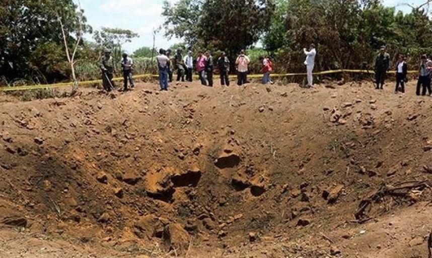 Meteorito impactó muy cerca del aeropuerto de Managua