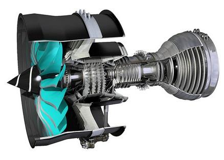 Rolls-Royce prueba un ventilador fabricado con carbono y titanio que aligera el peso del avión en 300 kilos