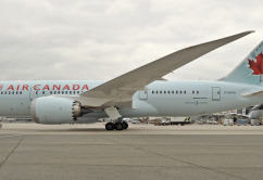 Air Canada Dreamliner on Ramp  2128