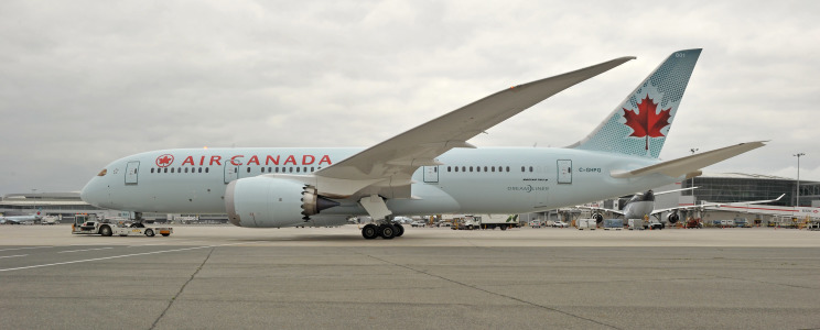 Air Canada Dreamliner on Ramp  2128
