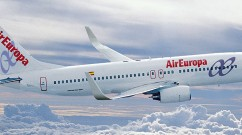Air Europa Boeing 737-800 en vuelo (2)