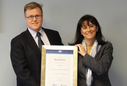 Sky Airline recibe certificado IOSA