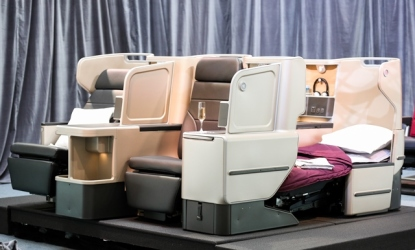 Qantas presenta nuevas Business Suites a330 con el primer asiento del mundo que podrá estar reclinado desde el despegue hasta el aterrizaje