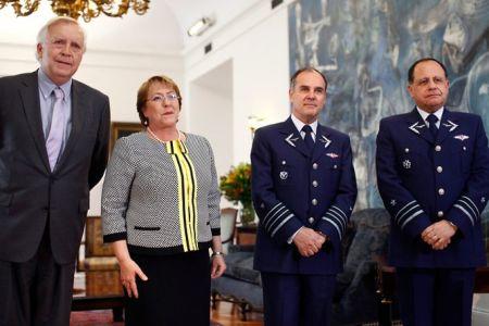 Chile: Presidenta nombra a nuevo Comandante en Jefe de la Fuerza Aérea