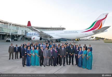 SriLankan Airlines recibe el primero de los 6 A330-300 que tiene pedidos
