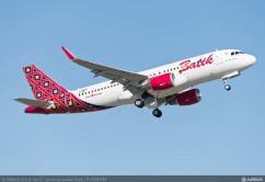 A320 BATIK TAKE OFF_