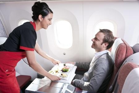 Companhias aéreas renovam serviços na classe executiva