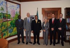 TT con ministro Bahamas
