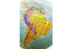 mapa LATAM latinoamerica sudamerica